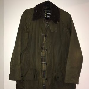 Classic Barbour Jacket Size 38